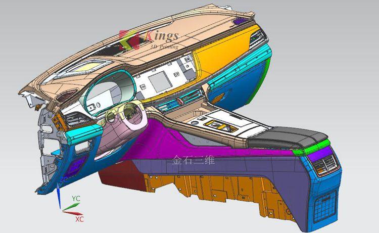 深挖两年,秋平模型借助金石3D打印机崛起为重庆汽车手板之最