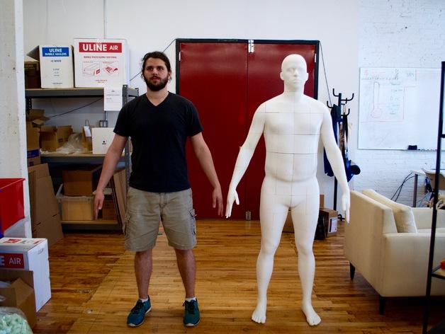 人体模型3D打印机