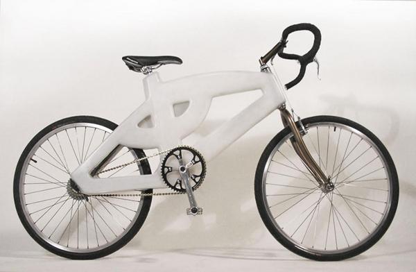 3D打印自行车,太炫酷了.....