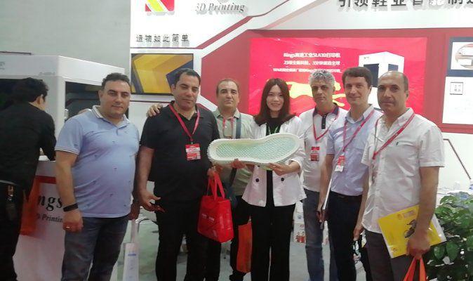 中国晋江鞋业展会,Kings高精度光固化3D打印机再次成为焦点