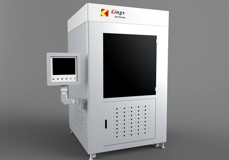 金石大型工业级3D打印机亮相重庆汽车技术展