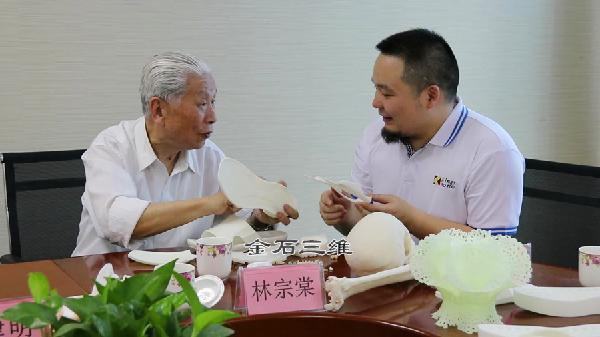原航空航天部林宗棠部长莅临金石三维考察工业3D打印机进展