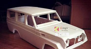 使用金石光固化3D打印机,他将汽车开发周期由45天变为12天