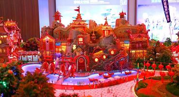 配备金石大型工业3D打印机,光速三维成功拿下600万恒大建筑模型制作订单