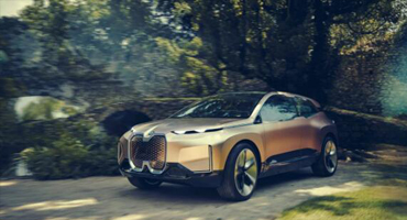 BMW的Vision iNEXT概念汽车采用3D打印格栅
