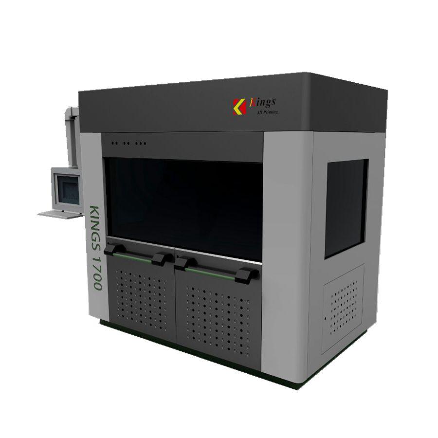 Kings1700汽车造型设计高速大尺寸3D打印机